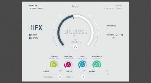 Boom Library liftFX kreiert spielbare Build-ups und Riser in Echtzeit