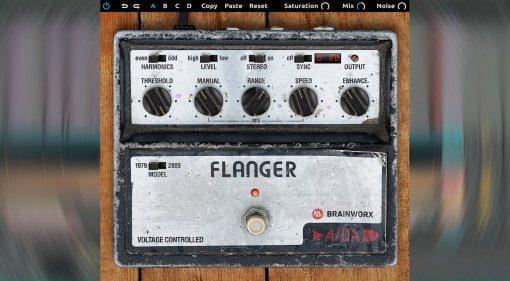 Brainworx A/DA Flanger - der Über-Flanger als Plug-in