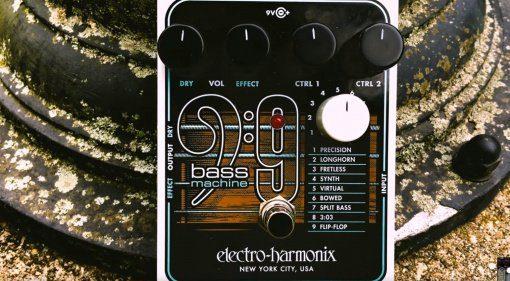 Electro Harmonix EHX Bass9 Bass Machine Effekt Pedal Front 1
