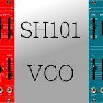 SH-101-Oszillator & Filter jeweils fürs Eurorack in SH-Farben – Bau dir doch einen SH-101 mit 2 VCOs und FM …