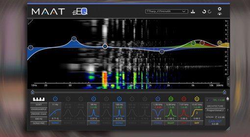 Maat thEQblue - virtuell analoger mischen geht wohl kaum