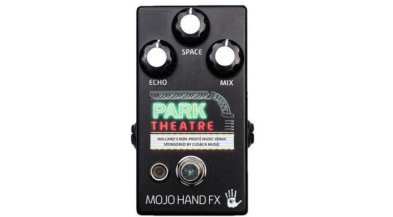 Mojo Hand FX Park Theatre Effekt Pedal Front