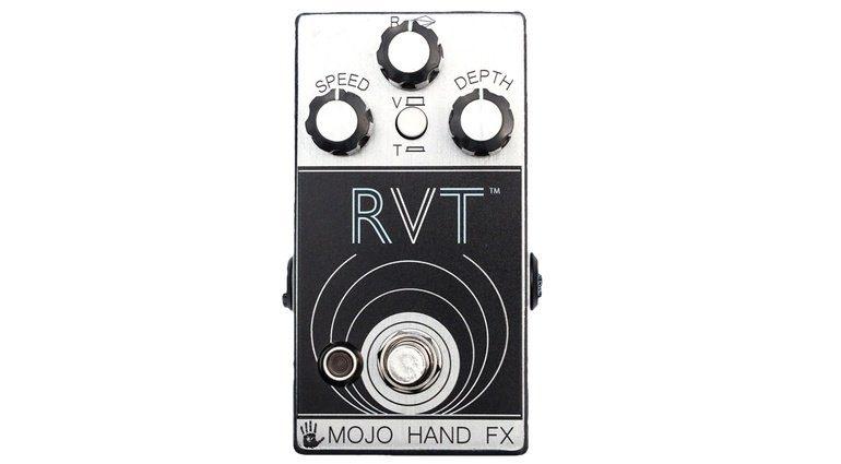 Mojo Hand FX RVT Effekt Pedal Front