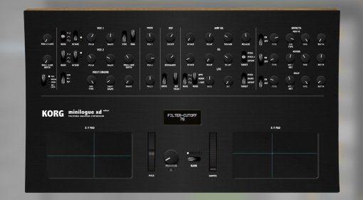 Korg Minilogue XD Editor und Controller