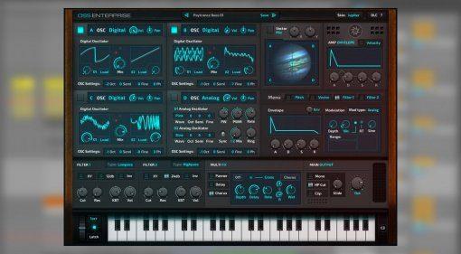 Ocean Swift OSS Enterprise Vector Hybrid Synthesizer