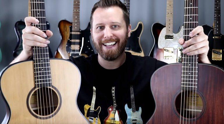Orangewood Guitars Zeder vs Mahagoni Decke Vergleich