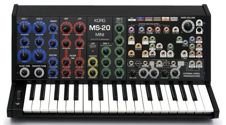 Oversynth Overlay MS20 Mini