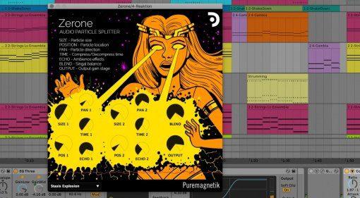 Puremagnetik Zerone - Audio Partikel Splitter im Comic Look