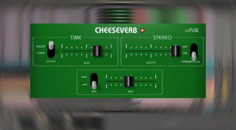 reFUSE Software Cheeseverb - cheesy BBD Reverb zum Schleuderpreis