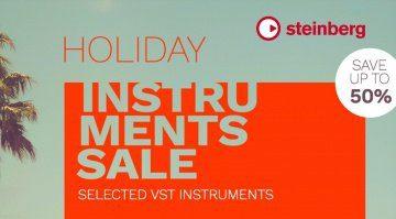 Steinberg Holiday Sale für alle Instrumente - 50 Prozent Rabatt!