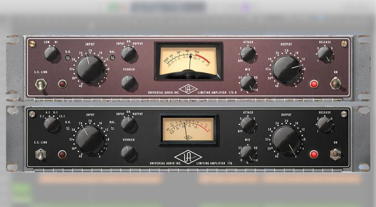 Universal Audio UAD 9.10 mit UA 175B & 176 Tube Compressor Collection