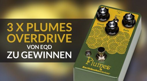EarthQuaker Devices Plumes Gewinnspiel