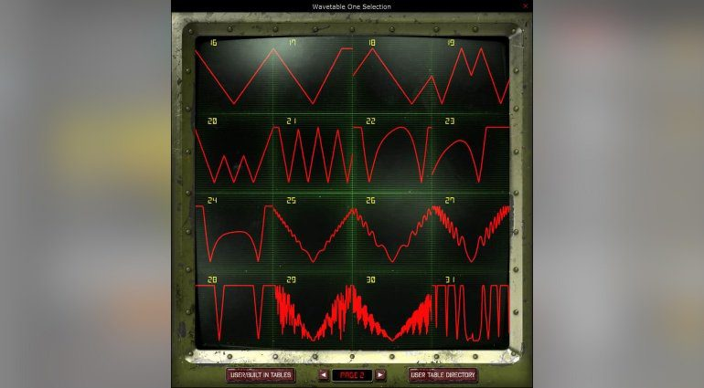 3 Sigma Audio Tactical Nuke Wavetable Auswahl