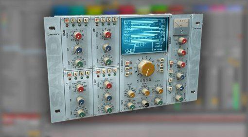 Acustica Audio Sand3 - SSL Konsolen Emulation mit zwei neuen EQs