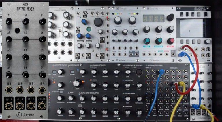 AI Synthesis Matrix Mixer