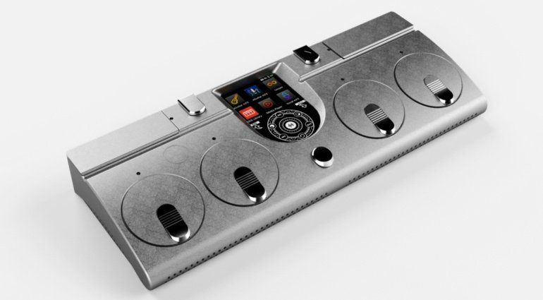 Audibotics PlayX Effekt Controller Front