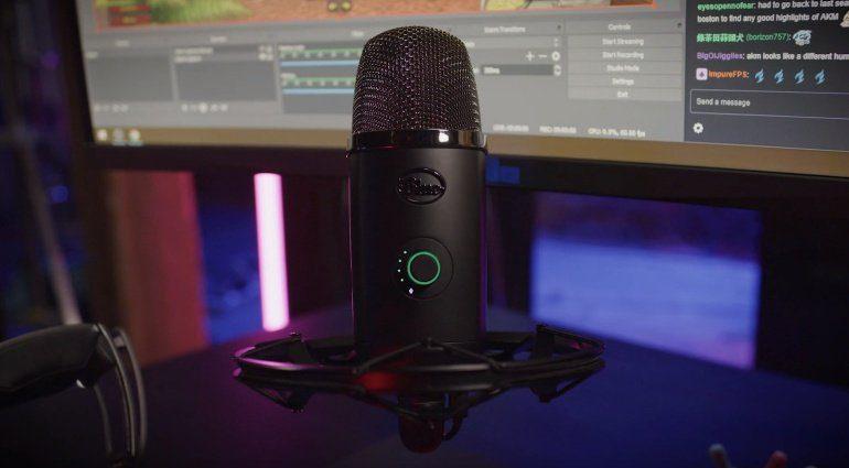Blue Yeti X Mikrofon USB Gaming Podcast Voice
