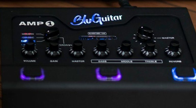 BluGuitar Amp1 Iridum Edition Guitar Summit 2019 Front