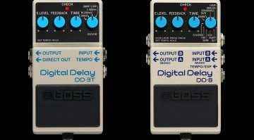 Boss DD-3T DD-8 Digital Delay Front