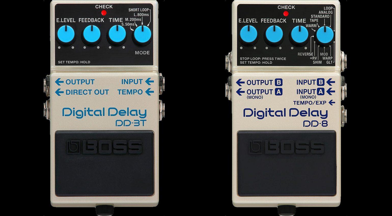 Boss DD-3T DD-8 Digital Delay Front