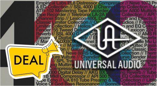 Deal: Universal Audio gibt 40 Prozent Rabatt auf UAD-Plug-ins!