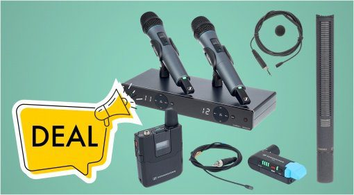 Deal: Spart bei Mikrofonen von Sennheiser
