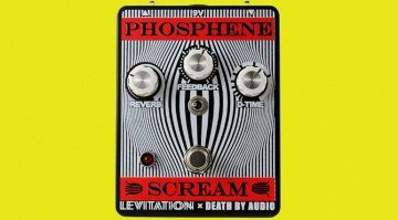 Death By Audio Phosphene Scream Pedal Effekt REverb