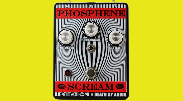 Death By Audio Phosphene Scream Pedal Effekt REverb