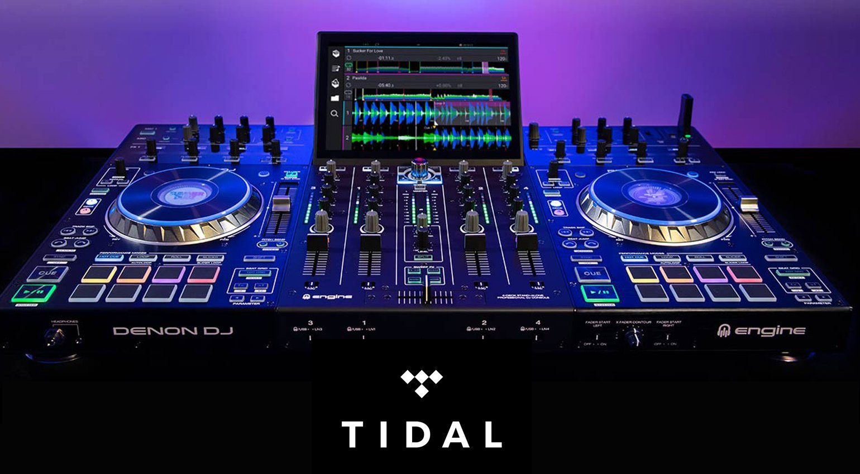 Denon DJ PRIME 4 Firmware 1.4 mit WIFI und TIDAL Streaming