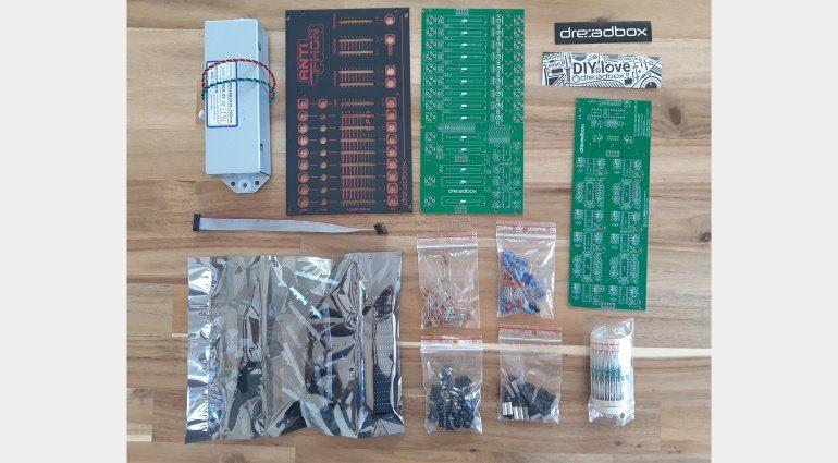 Dreadbox Antiphon DIY Kit Bauteile
