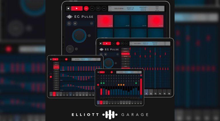Elliott Garage EG Pulse für iOS - mehr Drum Machine geht nicht!