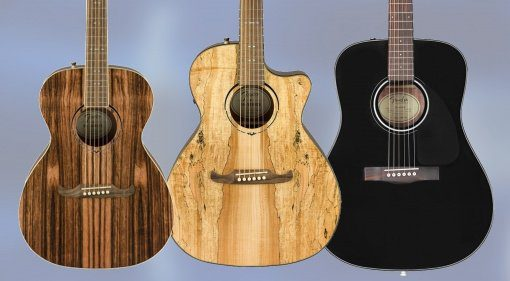 Fender Budget Akustikgitarren FA-235 FA-345 CD-60