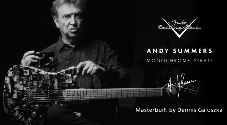 Fender Andy Summers Monochrome Stratocaster