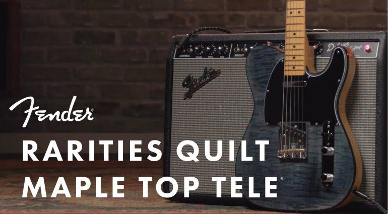 Fender Rarities Quilt Maple Top Telecaster