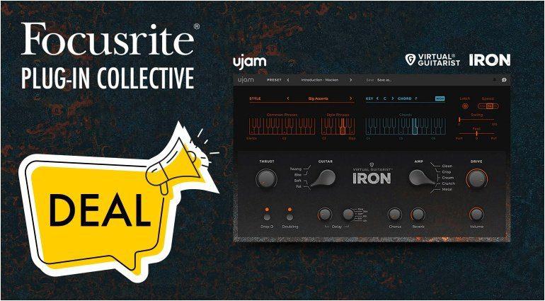 Kostenlos: Focusrite und UJam verschenken Virtual Guitarist Iron