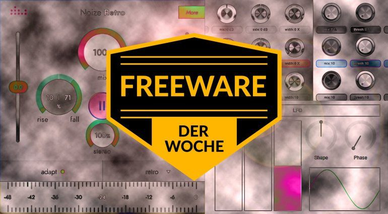 Freeware Sonntag: SevenDelay, Noize Retro und WhiteBlack