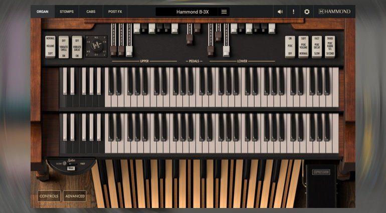 IK Multimedia Hammond B-3X - die echte Orgel für den Rechner!