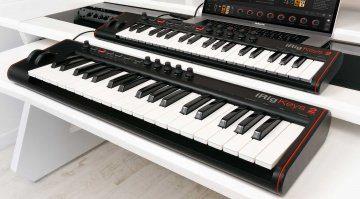 IK Multimedia präsentiert iRig Keys 2 MIDI-Controller