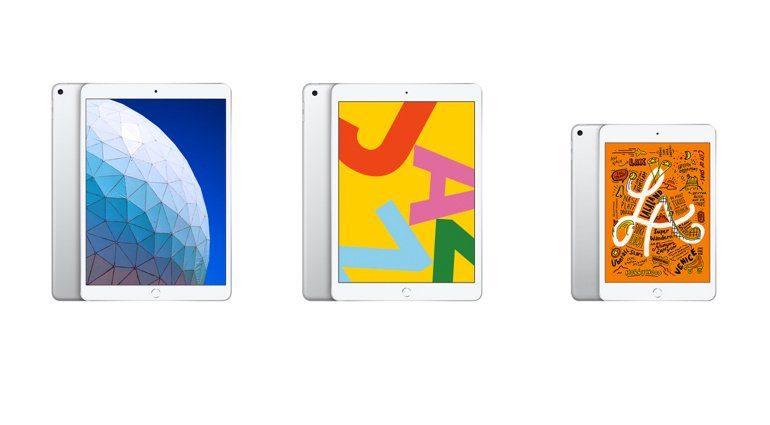 iPad Air, iPad, iPad mini
