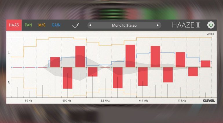 Klevgränd Haaze 2 - mit dem Plug-in wird Stereo noch besser!