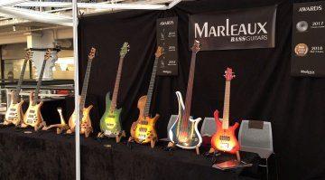 Marleaux Bassguitars: Volle Kraft voraus - fünf Bass-Events im September/Oktober!