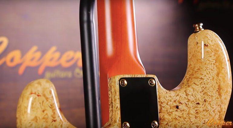 Noodlecaster Ramen Guitar Strat Nudel