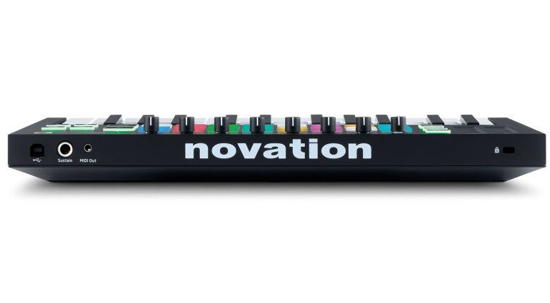 Novation Launchkey Mini - Rückansicht