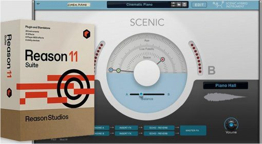Reason Studios zeigt Scenic - ein Cinematic Dream Instrument