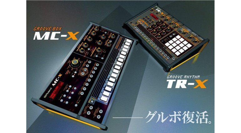 Groove Rhythm TR-X und MC-X Groovebox