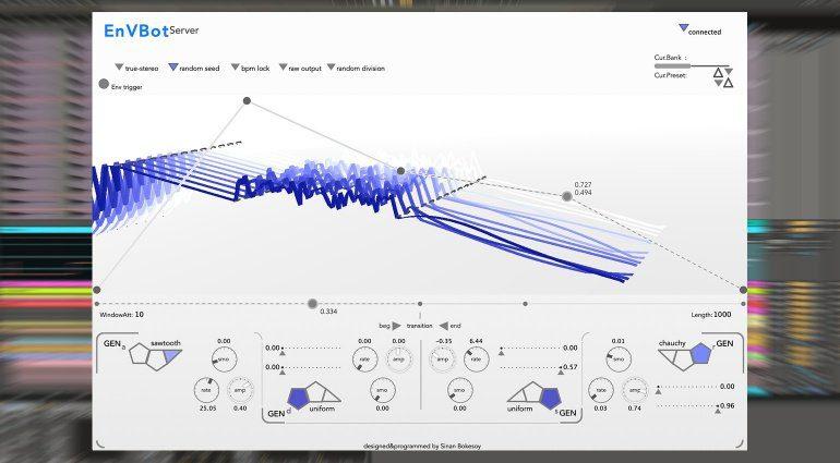 sonicLAB EnVBot - stochastischer Hüllkurvengenerator als Plug-in