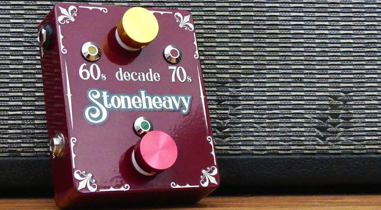 Stoneheavy Decade Effekt Pedal Front