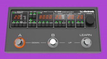 TC Electronic TC 2290 Dynamic Digital Delay Mockup 2 Modern Teaser