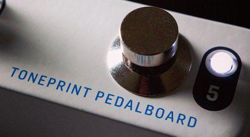 TC Electronic Toneprint Pedalboard Fussschalter