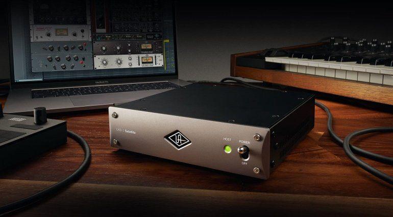 UAD-2 Satellite bekommt ein Thunderbolt 3 Upgrade